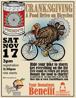 Muncie Bike Event Poster