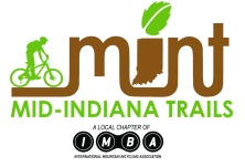 Logo for local trail group