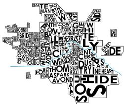 Muncie Neighborhoods Graphic